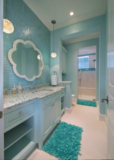 Guest Bath Beach Style Bathroom Miami By Weber