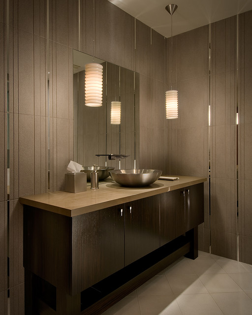 Guest Bath with tiled walls - Contemporary - Bathroom - Phoenix - by ...