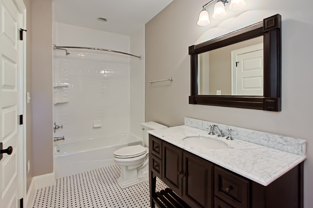 Guest Bath With Vanity Traditional Bathroom Dc Metro