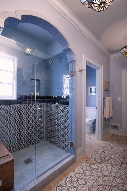 Guest Bathroom eclectic-bathroom