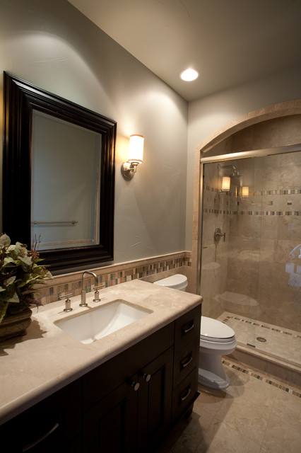 Guest Bathroom - Traditional - Bathroom - Denver - by Aneka ...