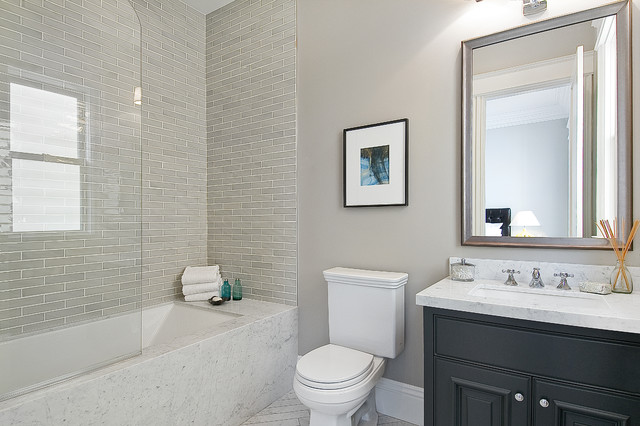 Guest Bathroom Traditional Bathroom San Francisco By Cardea - Guest bathroom tile ideas