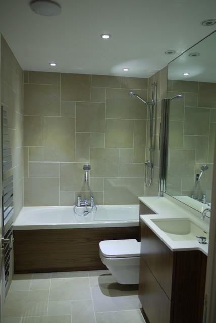 Guest bathroom chelsea gate london modern bathroom for Modern guest bathroom