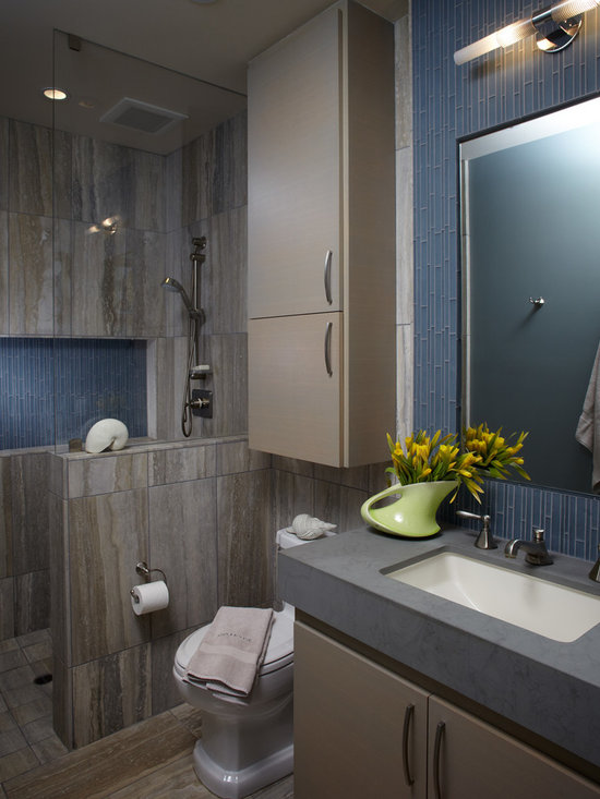 Small Beach Style Shower Designs For Small Bathrooms Bath ...