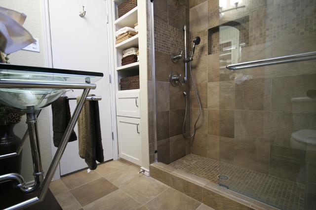 Guest Bathroom Graff traditional-bathroom