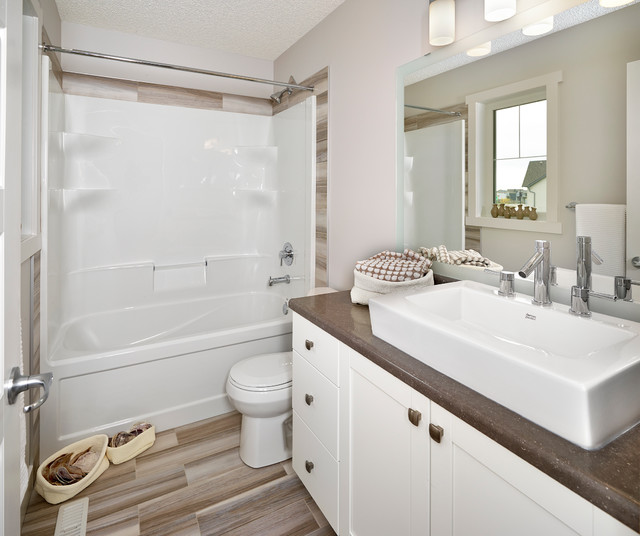Guest bathroom transitional bathroom edmonton by for Bathroom ideas edmonton