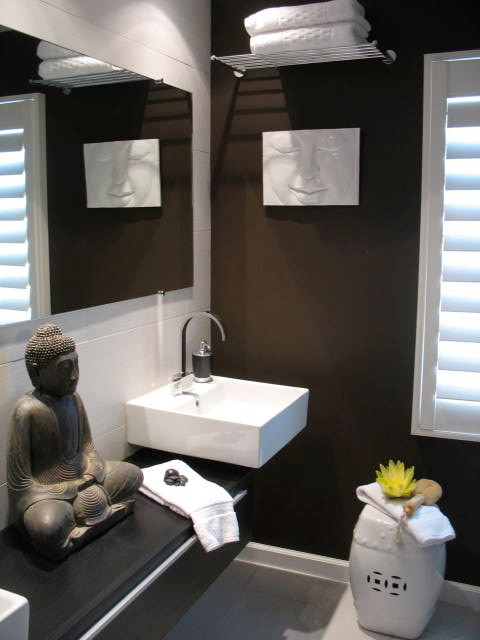 Guest Bathroom Modern Bathroom Los Angeles By Luxe Interiors By Anne