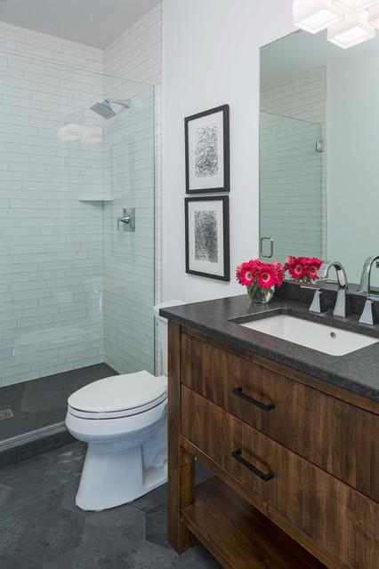 Guest Bathroom Contemporary Bathroom By Martha O 39 Hara Interiors