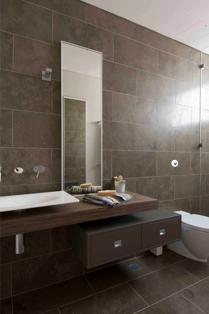 Guest Bathroom Modern Bathroom Sydney By Minosa