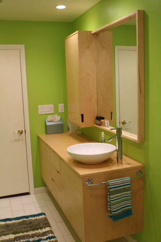 Guest Bathroom Remodel - Contemporary - Bathroom - Raleigh