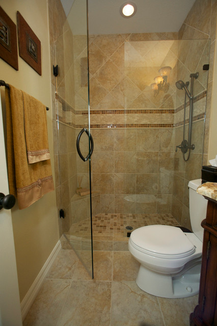 Dallas Bathroom Remodel Model guest bathroom remodel - stein - traditional - bathroom - dallas