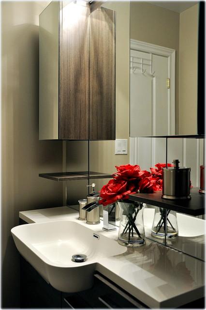 Guest Bathroom Reno contemporary-bathroom