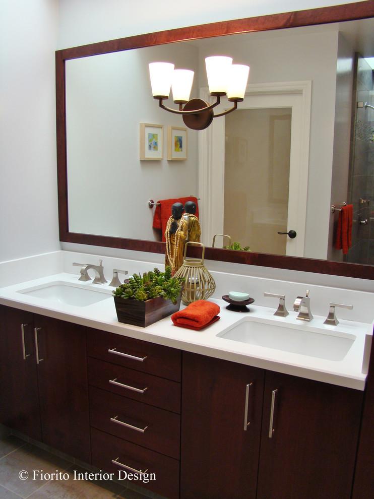 Guest Bathroom, San Jose, CA - Contemporary - Bathroom ...