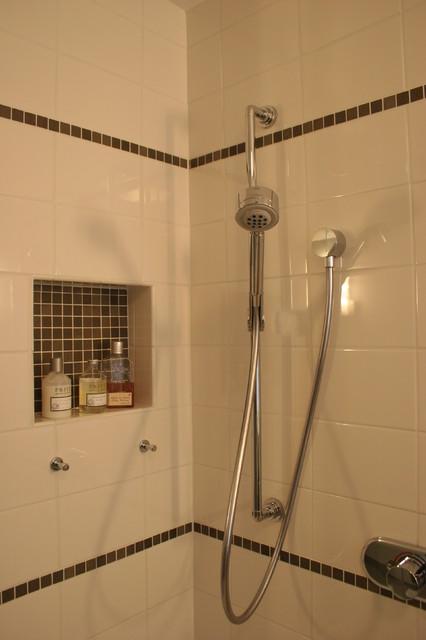 Guest Bathroom Shower modern-bathroom