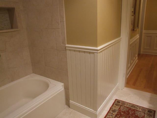 Guest Bathroom trim details - Traditional - Bathroom - New York ...
