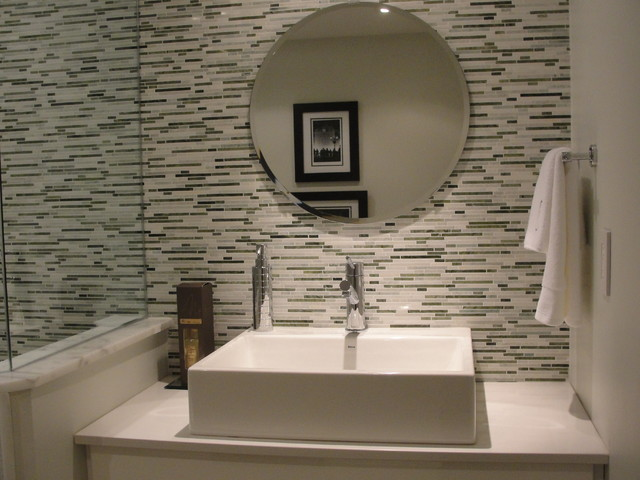 Guest Bathroom Contemporary Bathroom Toronto By Urban