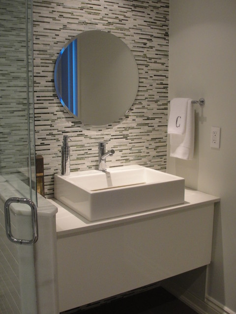 Guest Bathroom Contemporary Bathroom Toronto By Urban Ideas Inc