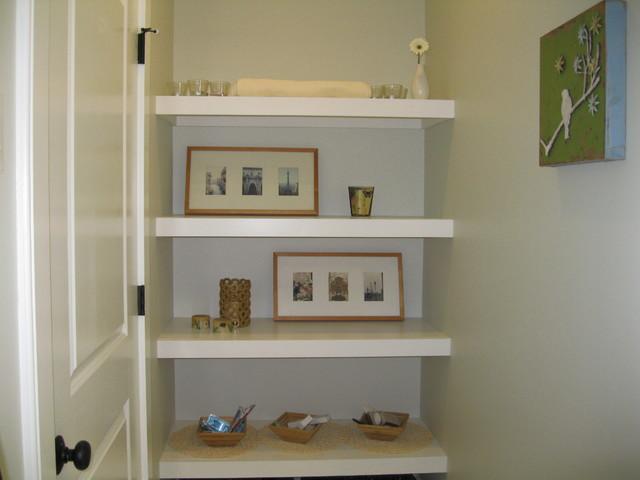 Example Of A Minimalist Bathroom Design In Boston