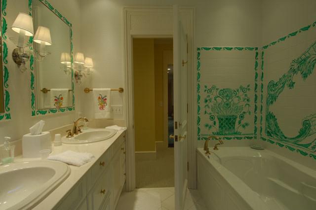 guest bathrooms traditional-bathroom