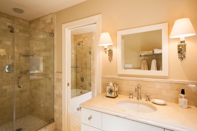 Guest Bathrooms, Villanova traditional-bathroom