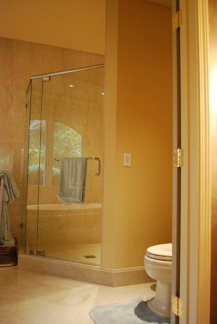 Guest House Atherton Modern Bathroom San Francisco By J R Mcdonald Color And Design