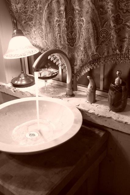 Guest House Bath eclectic-bathroom