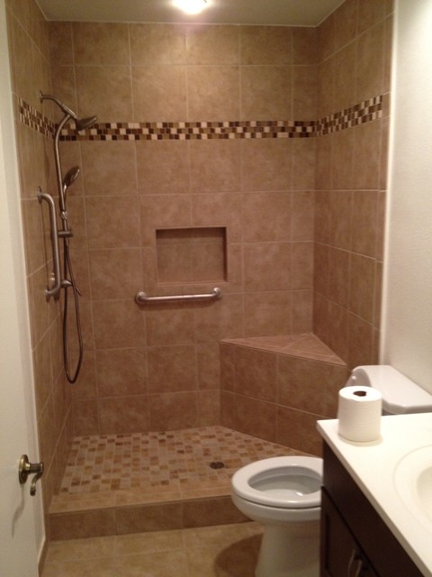Guest Shower Redesign Contemporary Bathroom San