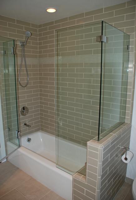 Guest Shower Walnut Creek traditional-bathroom