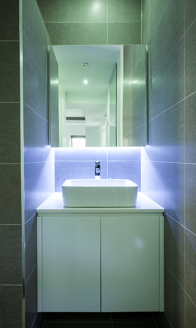 Guildford modern bathroom sydney by famous for for Kitchen ideas guildford