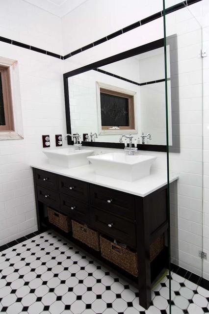 Bathroom Mirrors Guildford guildford renovation - federation style bathroom