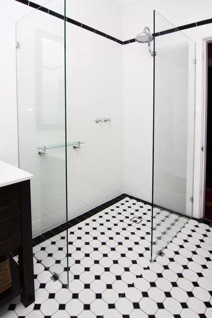 Guildford Renovation Federation Style Bathroom Contemporary