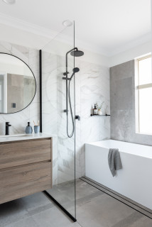 75 Beautiful Small Wet Room Bathroom Pictures Ideas February 2021 Houzz Au