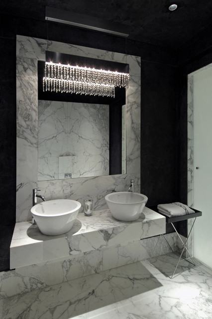Habachy Designs contemporary-bathroom