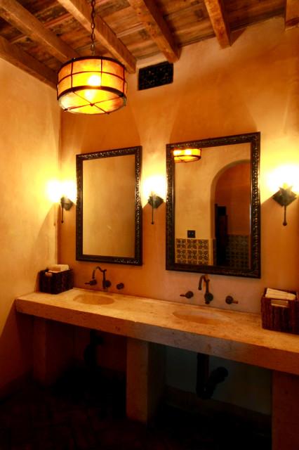 Hacienda mediterranean-bathroom