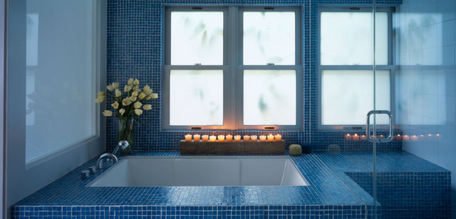 Modern Bathroom by Belzberg Architects