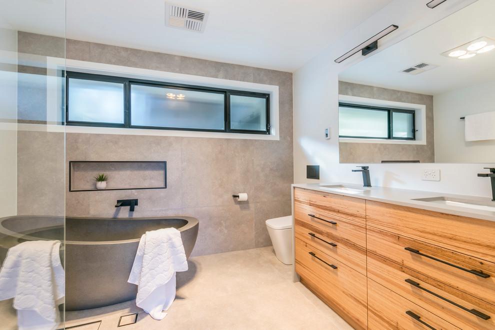 Hackett - Complete Renovation - Contemporary - Bathroom ...