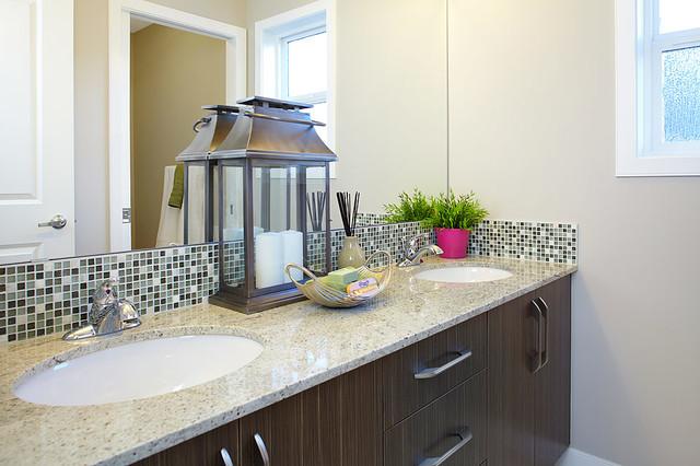 Hadleigh Show Home In Kincora NW Calgary Contemporary Bathroom Calgar