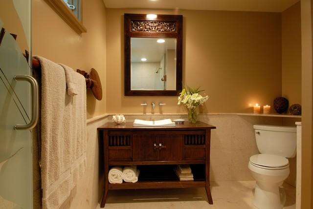 Bathroom Cabinets Hawaii hale ainathe sea - tropical - bathroom - hawaii -