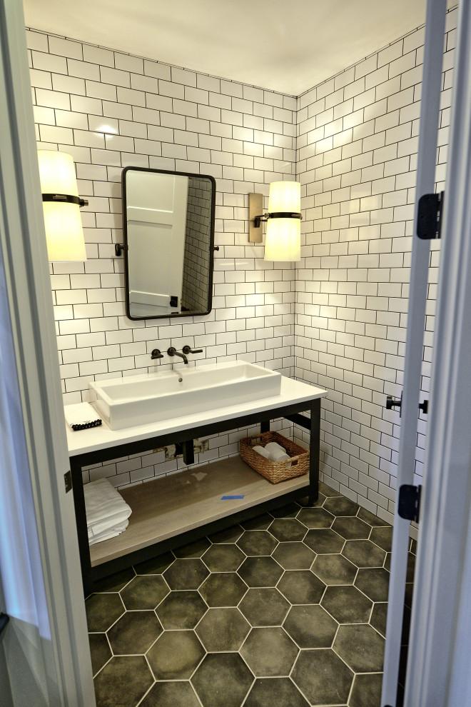 Half Bath - Transitional - Bathroom - Indianapolis - by ...