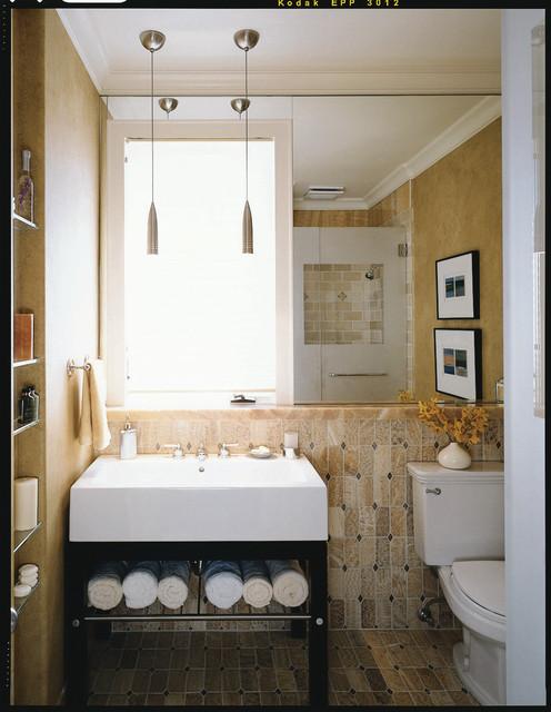 Half Bathroom transitional-bathroom