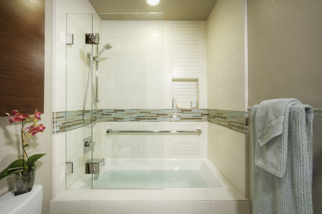 Modern Bathroom Tub Shower Combo - Home is Best Place to Return