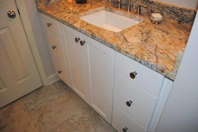 hall bath remodel with kohler archer sink u0026 villager tub bathroom - Kohler Archer Tub