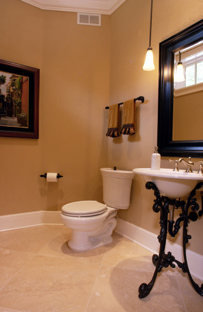Salt Lamps Blue Ridge Ga : Hall Bathroom - Traditional - Bathroom - Other - by Michael F Simon Builders