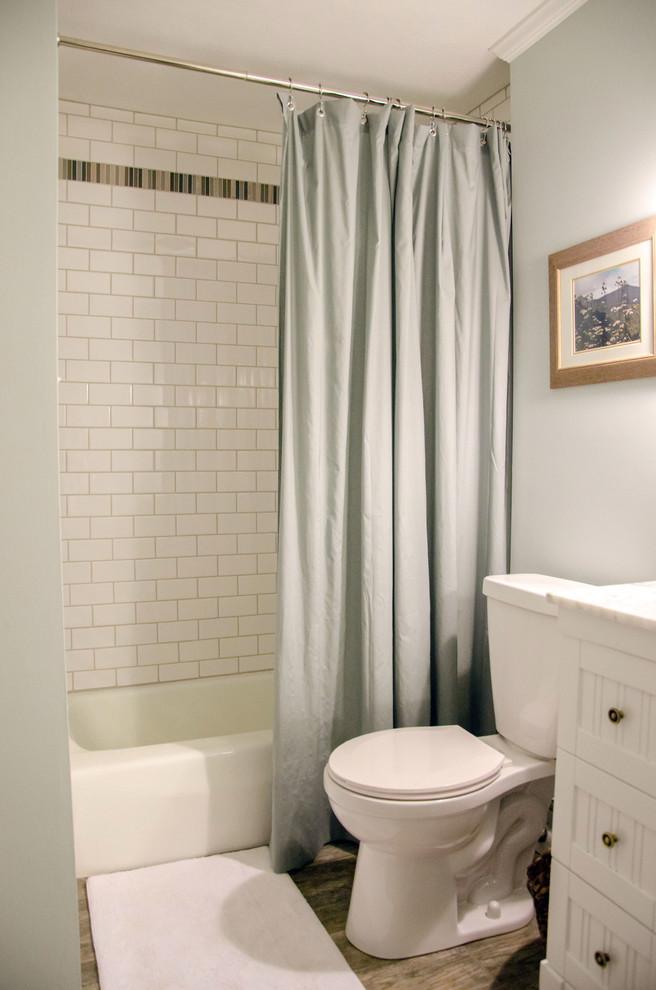 Hall Bathroom Remodel Farmhouse Bathroom Other By