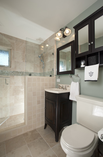 Hall Bathroom Remodel - San Jose, CA - Traditional ...