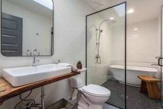 hallmark subdivision, apex nc- bathroom - contemporary