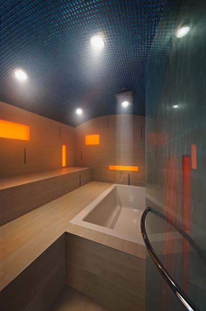 Hammam moderne salle de bain ottawa par kariouk for Salle de bain style hammam