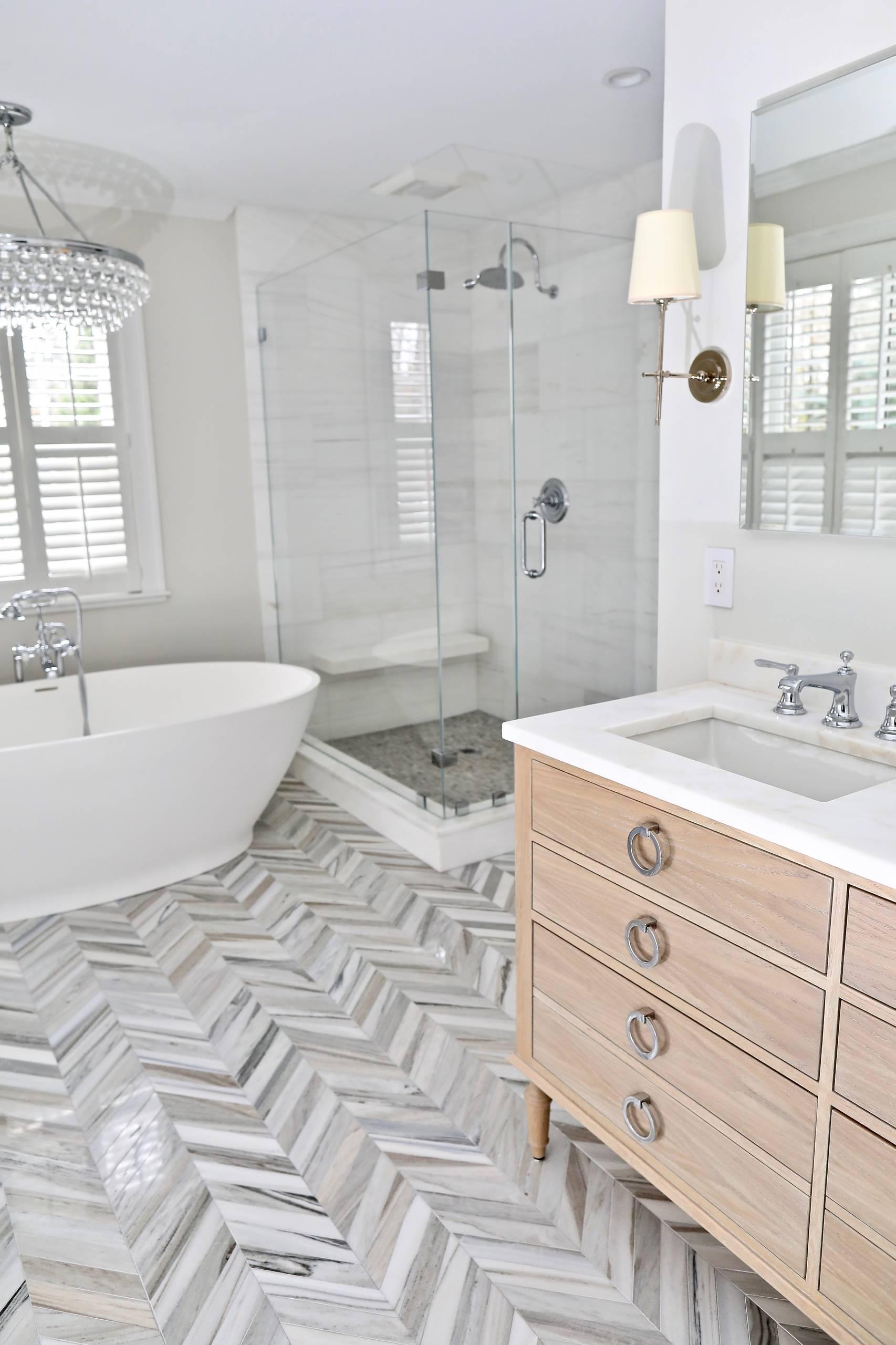 Hampshire Rd Wellesley Master Bath
