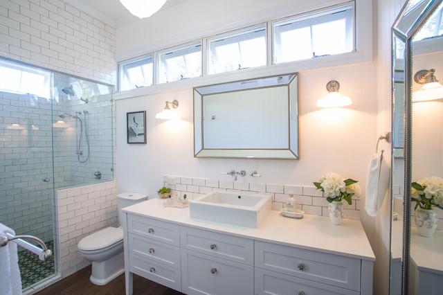 hampton style bathroom traditional bathroom brisbane by makings of fine kitchens bathrooms. Black Bedroom Furniture Sets. Home Design Ideas