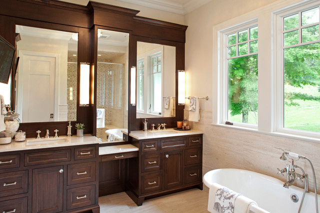 Interior Designers Decorators Hamptons Historic Residence Traditional Bathroom